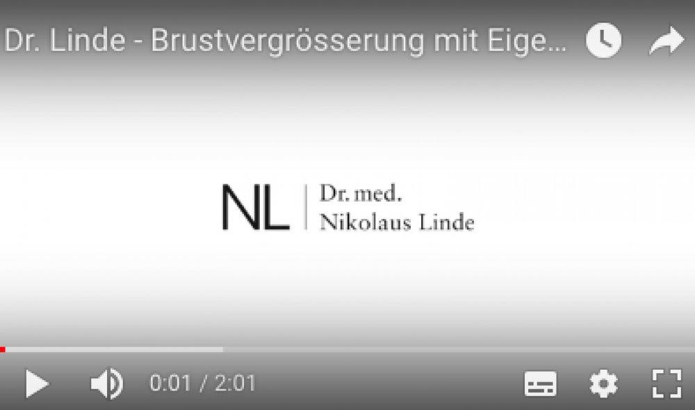 Dr. Linde - Brustvergrösserung mit Eigenfett