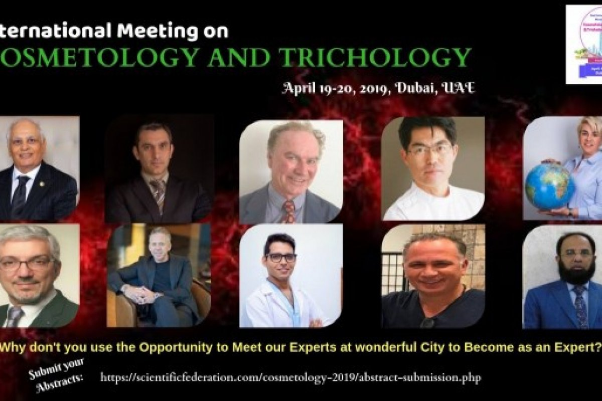 2. Internationales Treffen für Kosmetologie & Trichologie in Dubai